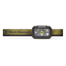 Black Diamond Storm 375 Otsalamppu, dark olive